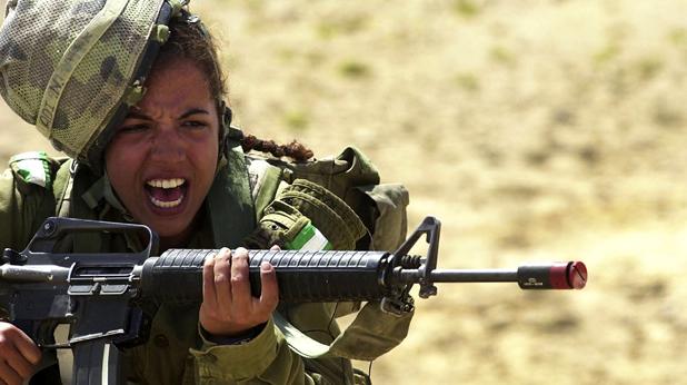 Жена от израелската армия