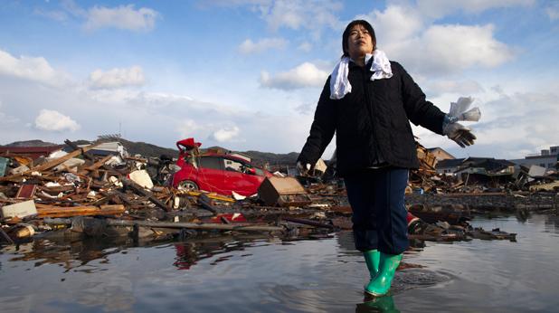 Япония, криза