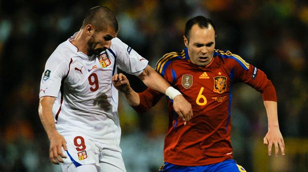 Испания - Чехия