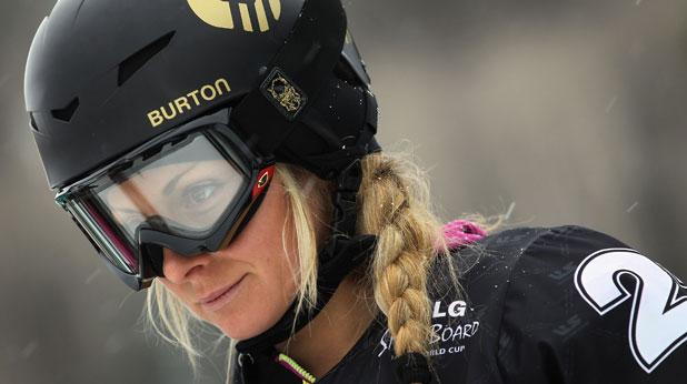 Александра Жекова, сноуборд
