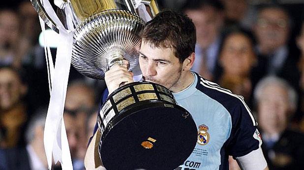 Реал (Мадрид), Икер Касияс, Купа на Краля