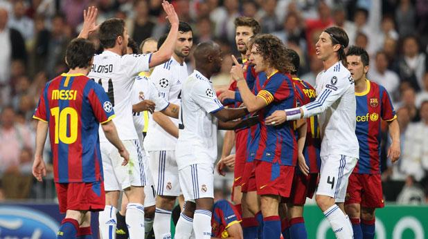 Барселона, Реал (Мадрид), Шампионска лига
