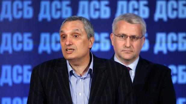Иван Костов и Светослав Малинов