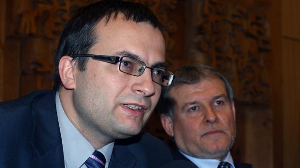 Мартин Димитров и Румен Христов
