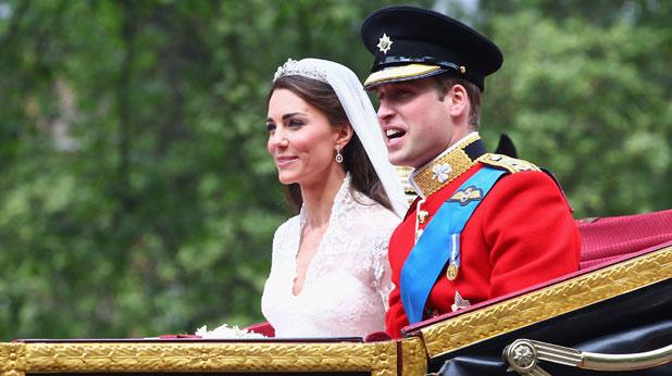 Сватба на принц Уилям и Кейт Мидълтън