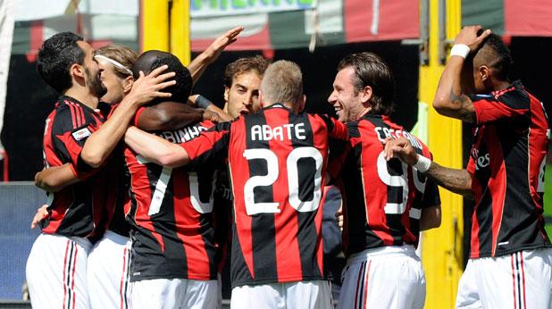 Милан, Болоня, Серия А