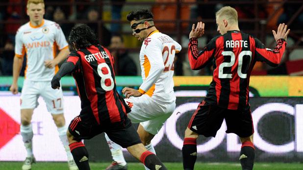 Милан - Рома 0:1