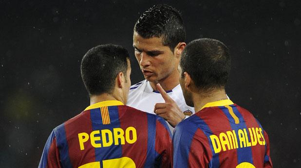 Барселона, Реал (Мадрид), Дани Алвеш, Кристиано Роналдо