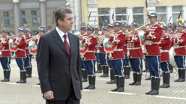 георги първанов, парад