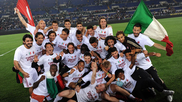 Милан, титла