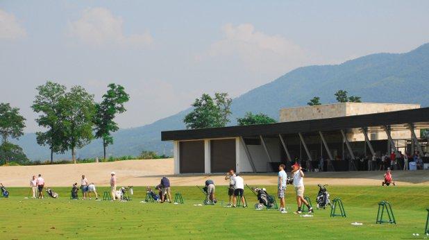 голф, голфъри, урок по голф