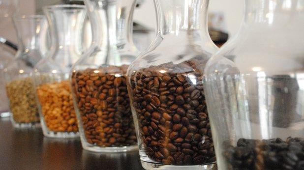 кафе, буркани