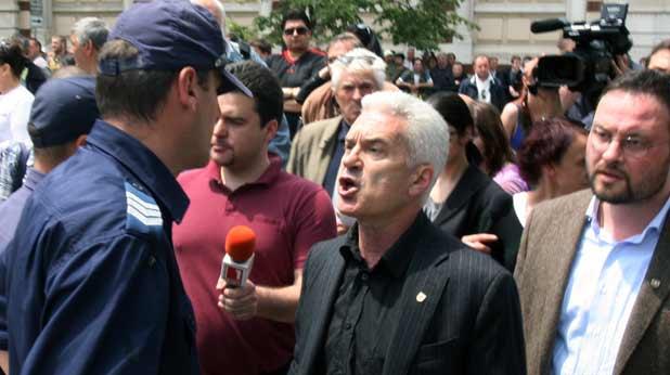 Волен Сидеров протест пред джамия