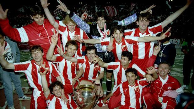 Цървена звезда, европейски шампиони, кеш, купа, 1991, финал