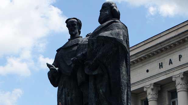 Братята Кирил и Методий