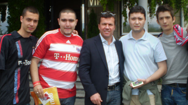 Фенклуб Байерн-България с Лотар Матеус