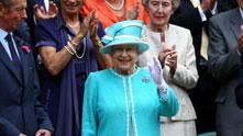Кралица Елизабет, Уимбълдън