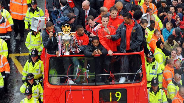 Манчестър Юнайтед - шампионски парад