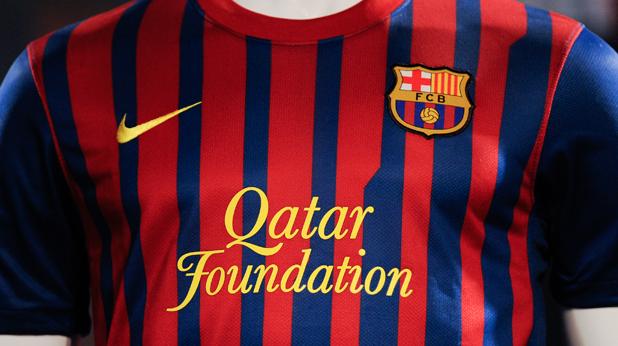 """Новите фланелки на Барселона с логото на """"Qatar Foundation"""""""