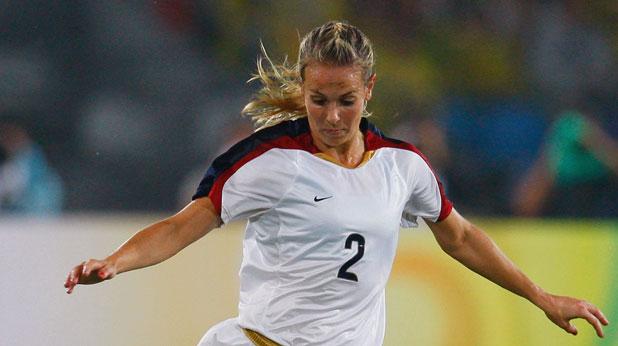 Хедър Митс, женски футбол, САЩ