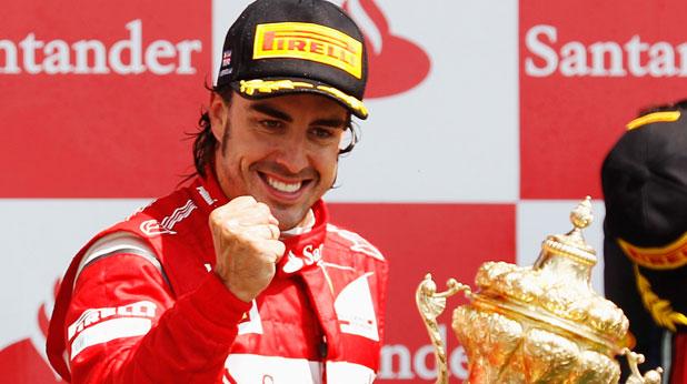 Фернандо Алонсо, Гран при на Великобритания, Формула 1