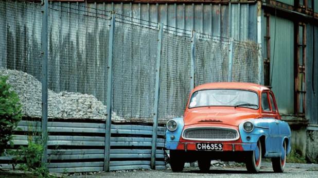 Стара кола в София