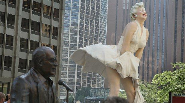 монро, статуя