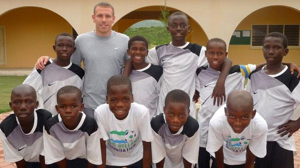 Крейг Белами, фондация, Сиера Леоне, негърчета
