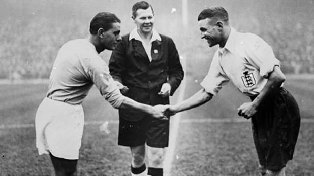 Англия - Италия 3:2 в контрола през 1934 г.