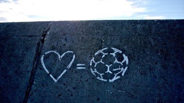 Любов = футбол