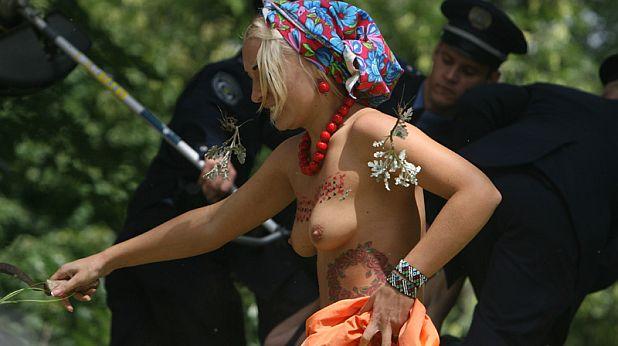 ФЕМЕН, протест - 4