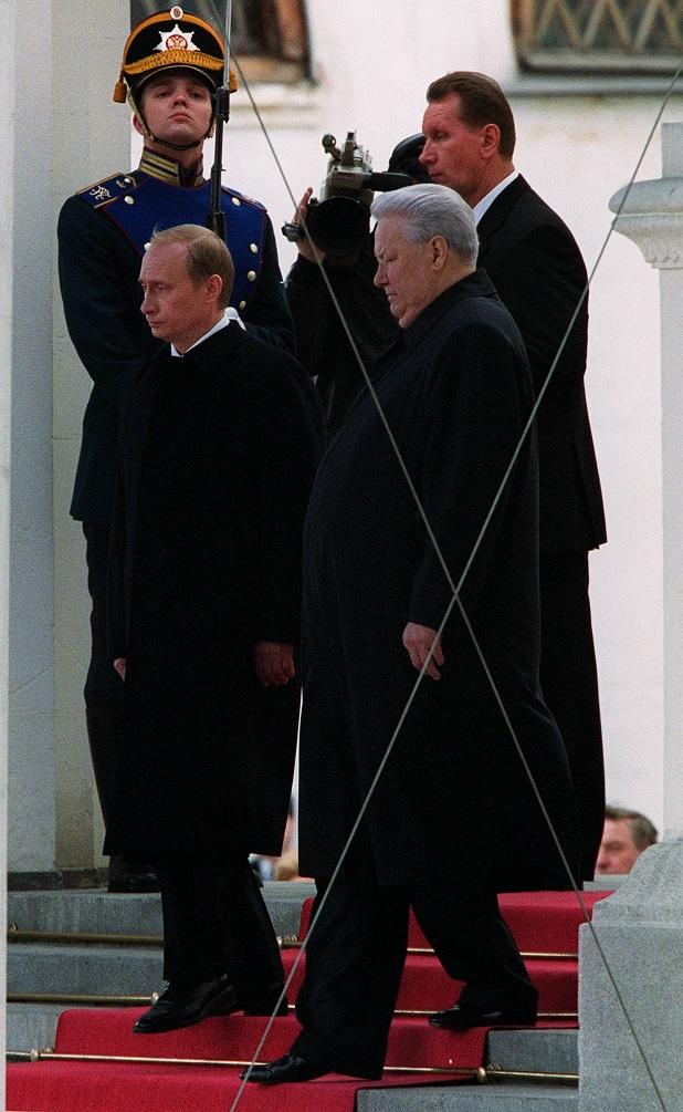 владимир путин борис елцин