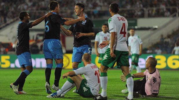 България, Англия, квалификация, Евро 2012, Гари Кейхил, Петър Занев, Иван Иванов, Николай Михайлов