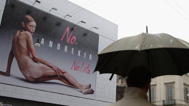 анорексия билборд
