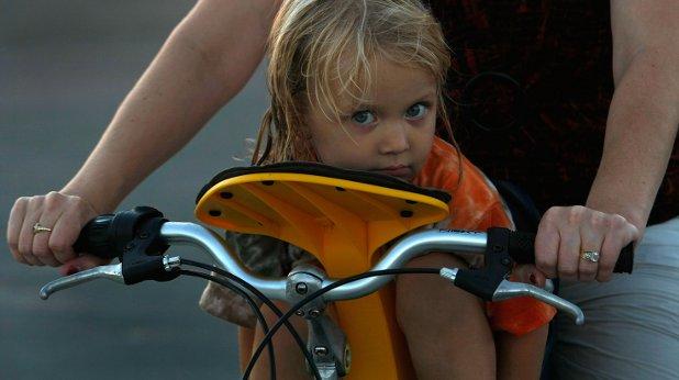 колело, дете