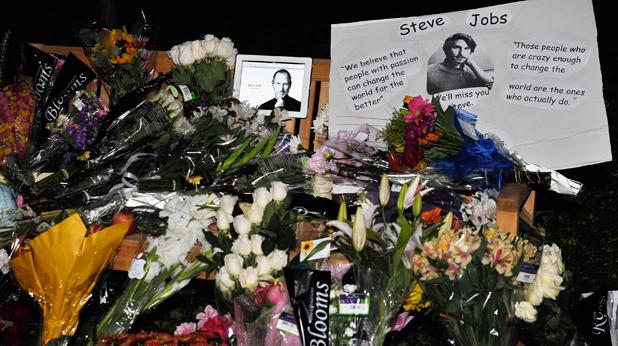 Почина Стийв Джобс