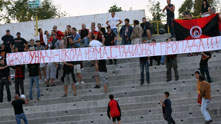 Протест на привържениците на Локомотив (София) срещу Николай Гигов
