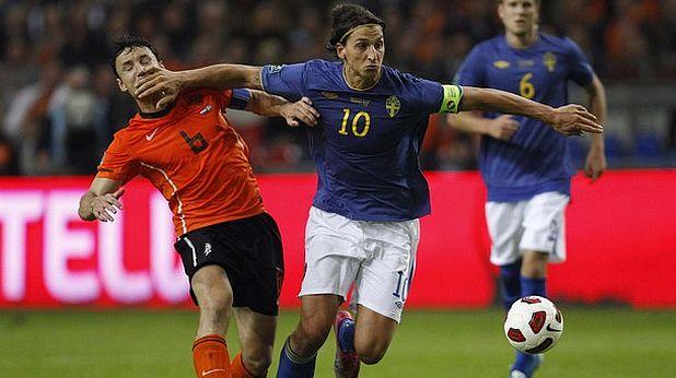 Холандия - Швеция 4:1