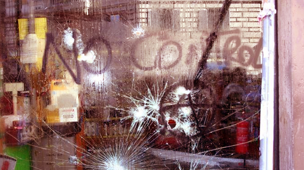 Рим, протести, вандали