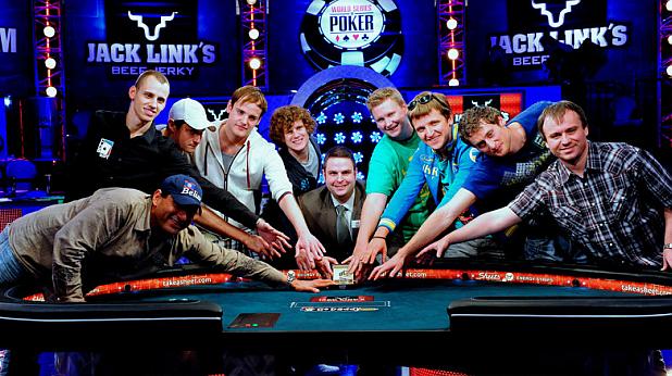 November Nine, WSOP 2011, покер, финалисти