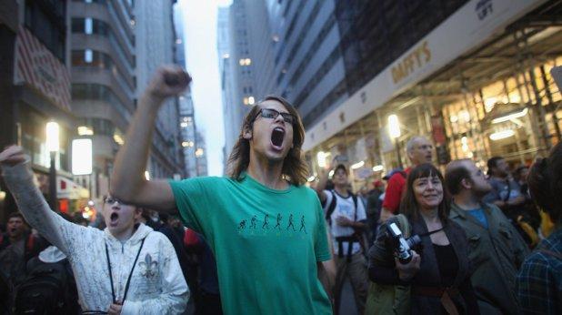 младеж, протест