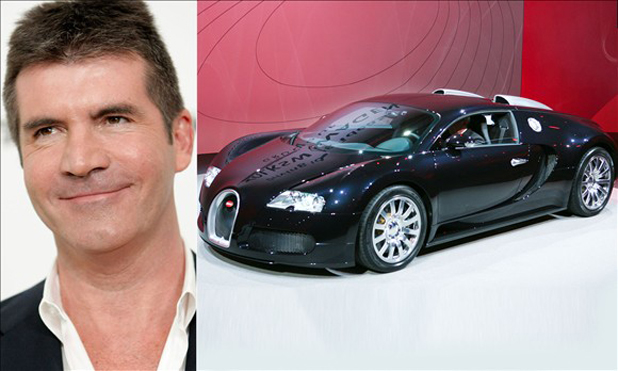 Simon Cowell and the Bugatti Veyron