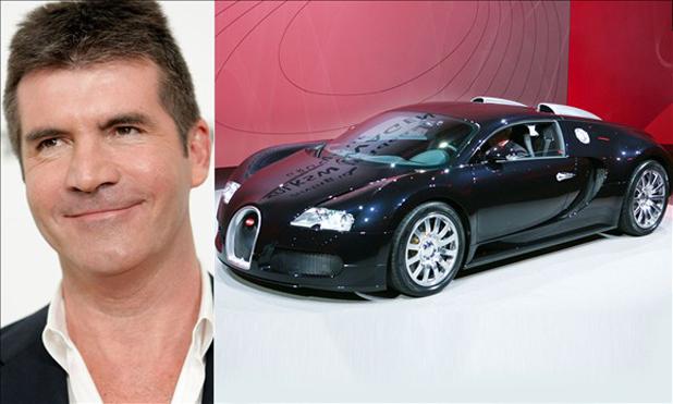 Simon Cowell and the Bugatti Veyron