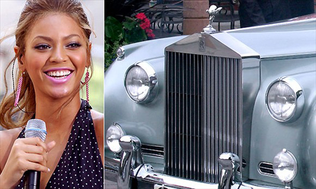 Beyoncй and the Rolls-Royce Silver Cloud