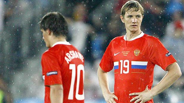 Андрей Аршавин, Роман Павлюченко, Русия