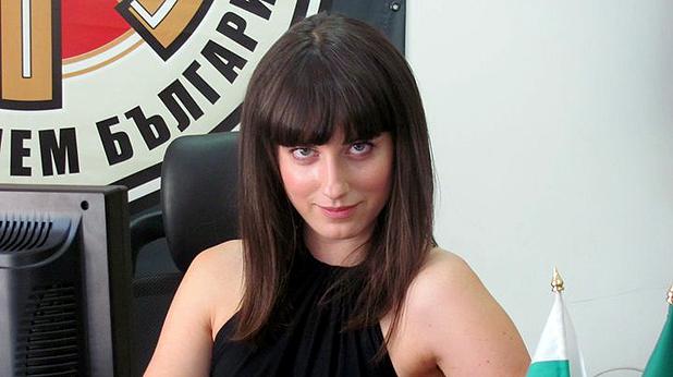 Деница Гаджева, жената