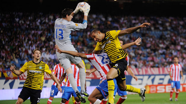 Атлетико (Мадрид) - Селтик 2:0 в Лига Европа