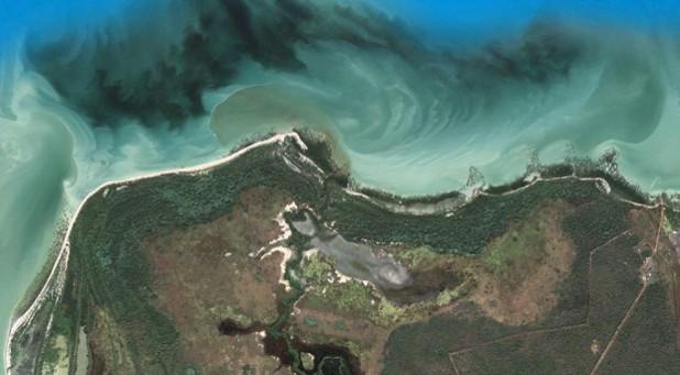 Крайбрежието на Северна Австралия, гугъл