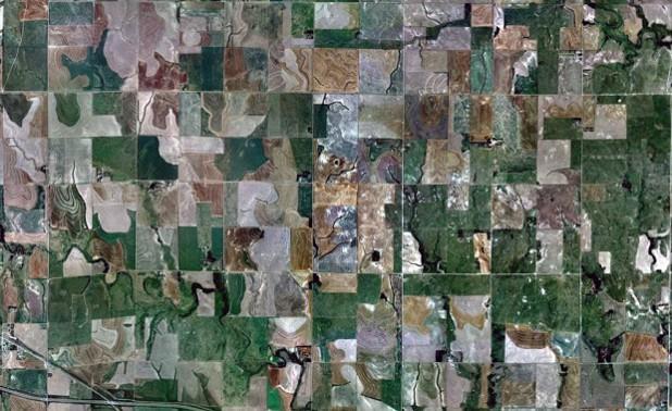пасбища, западен канзас, гугъл