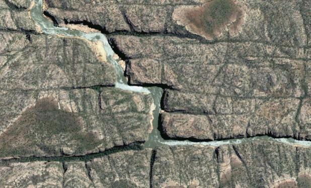Река Катрин, Австралия, гугъл
